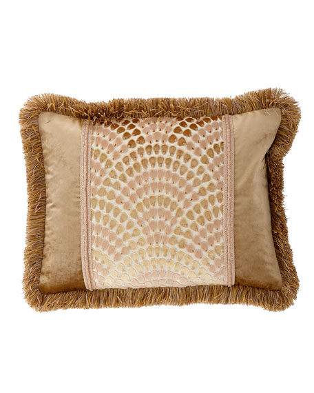 Rosamaria King Sham with Fringe