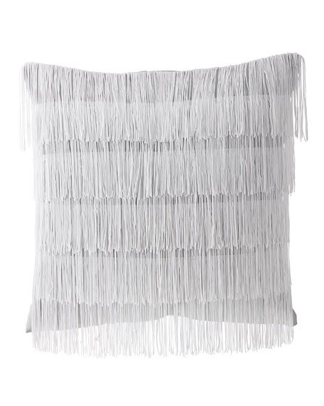 Quartzite Fancy Fringe Pillow