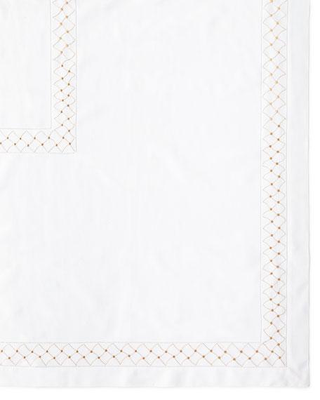 "Madeira Dots Tablecloth, 66"" x 120"""
