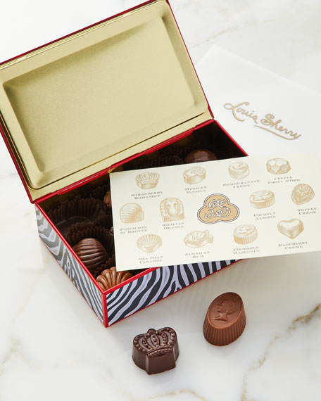 Zebra 12-Piece Assorted Chocolates