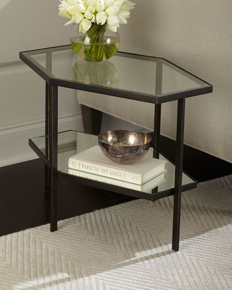 Fatima Hexagon Side Table