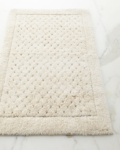 Organic Cotton Belgium Linen Bath Rug: Bath Rugs, Designer Bath Mats & Bathroom Mats At Horchow