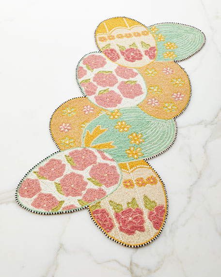 MacKenzie-Childs Easter Egg Table Runner