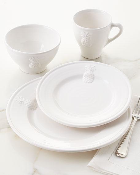 Neiman Marcus 16-Piece Pineapple Dinnerware Service