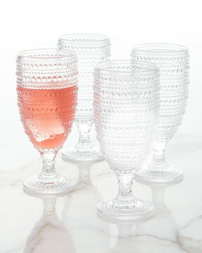 Lumina Ice Beverage Glasses, Set of 4