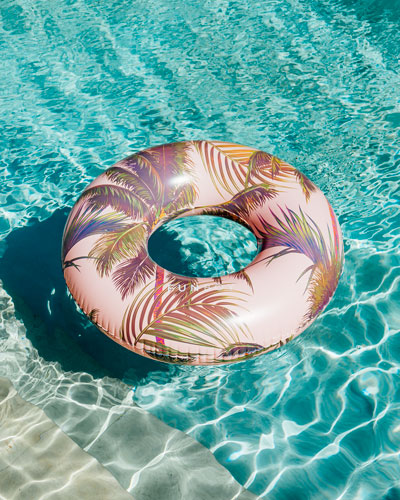 Vintage Cali Inflatable Pool Tube Float