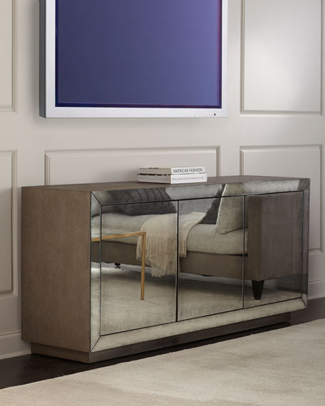 Toledo Mirrored Entertainment Console