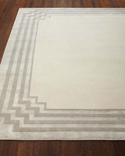Chattingham Hand-Knotted Rug  10' x 14'