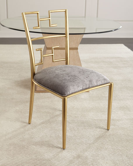 Brishen Brass Side Chair