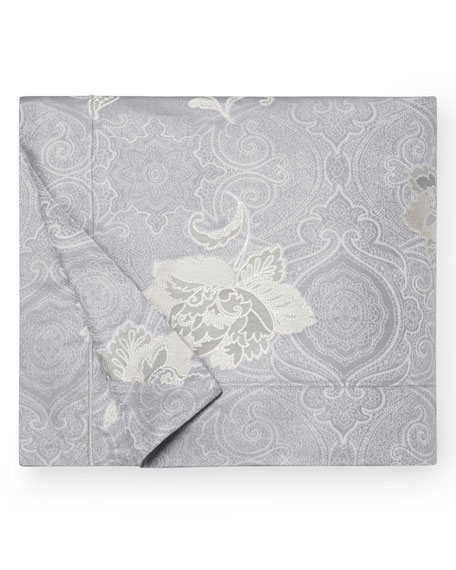 SFERRA Floral Bloom Jacquard Full/Queen Duvet Cover