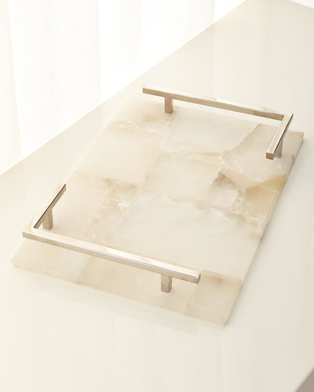 Jamie Young Alabaster Tray