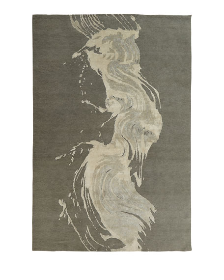 L'Artist Chic Hand-Knotted Rug, 10' x 14'