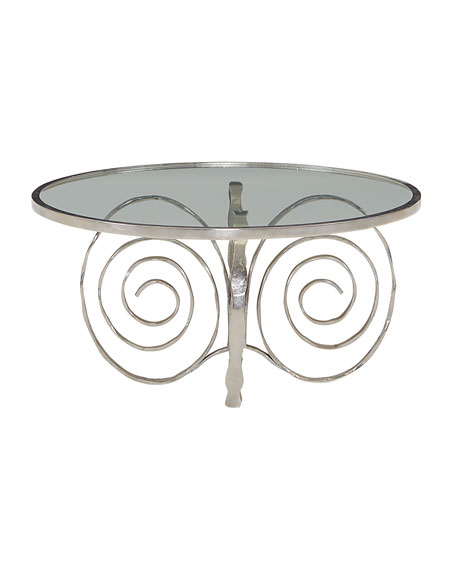 Delicate Scroll Coffee Table
