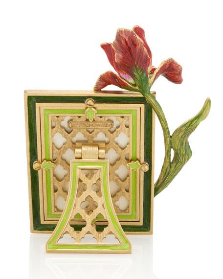 "Flora Tulip Picture Frame, 3"" x 4"""