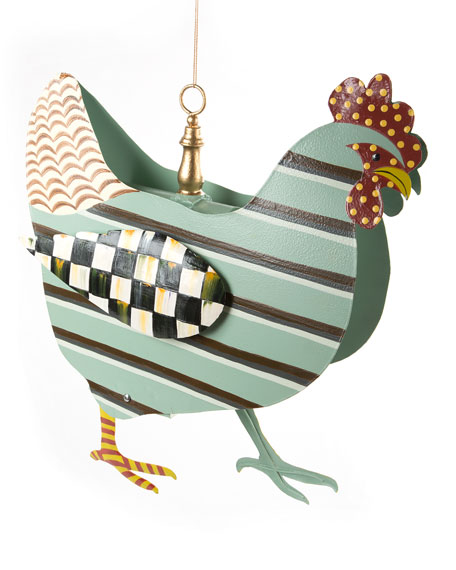 MacKenzie-Childs Chicken Bird House
