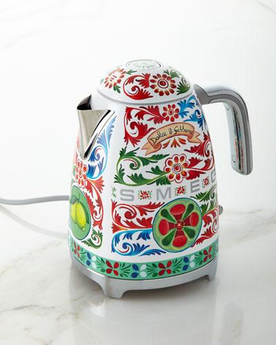 Dolce Gabbana x SMEG Sicily Is My Love Tea Kettle