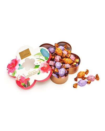 32-Piece Individually Wrapped Flower Chocolate Easter Gift Box
