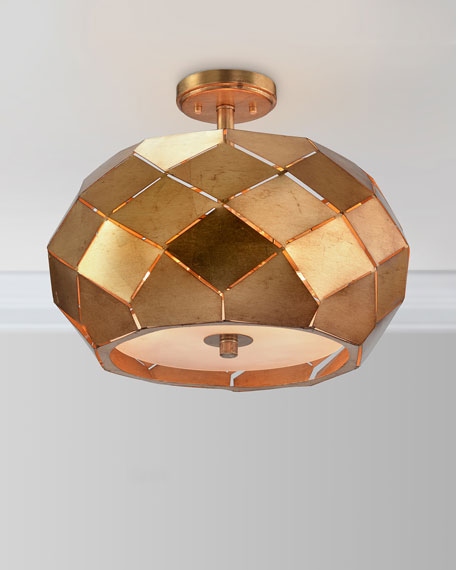 Origami Semiflush Chandelier Light