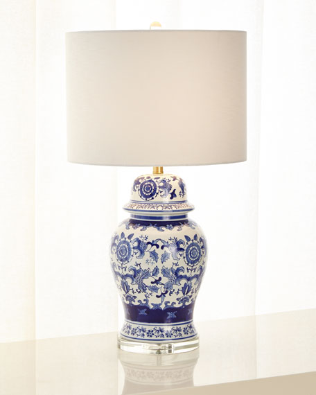 Fairhaven Ginger Jar Table Lamp