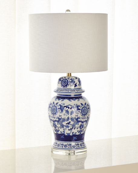 Couture Lamps Fairhaven Ginger Jar Table Lamp