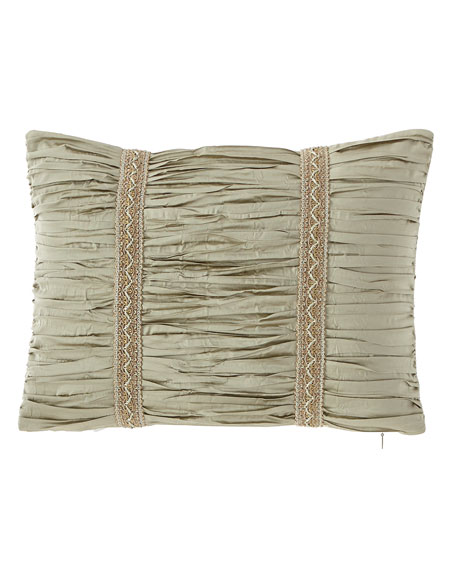 "Laurel Boudoir Pillow, 12"" x 16"""