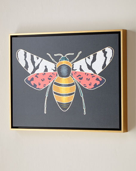"Luxe Bee I Wall Art, 24"" x 18"""