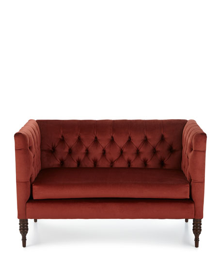 Erika Tufted Settee