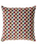 Collage-Print Decorative Pillow