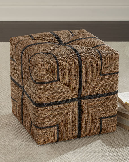 Fritz Rope Square Ottoman