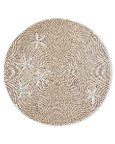 Joanna Buchanan Taupe Starfish Placemat