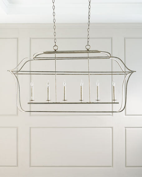 6-Light Island Chandelier