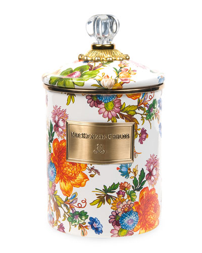 Medium Flower Market Canister