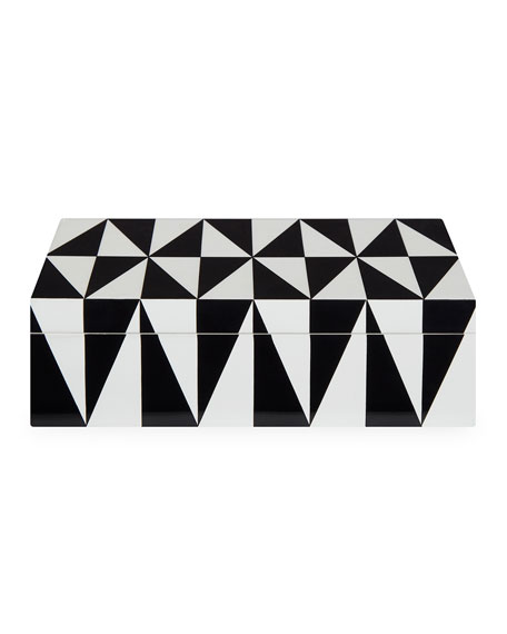 Op Art Medium Stacking Box