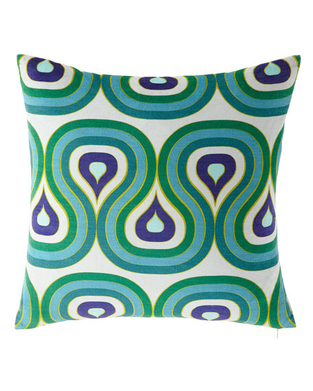 Milano Concentric Loops Pillow