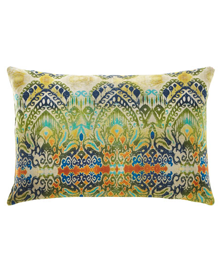 Modern Ikat Pillow