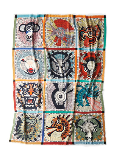 Oroscopo Throw Blanket, 55