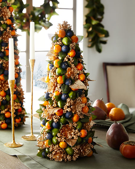 Autumn Beauty Tabletop Christmas Tree - 18