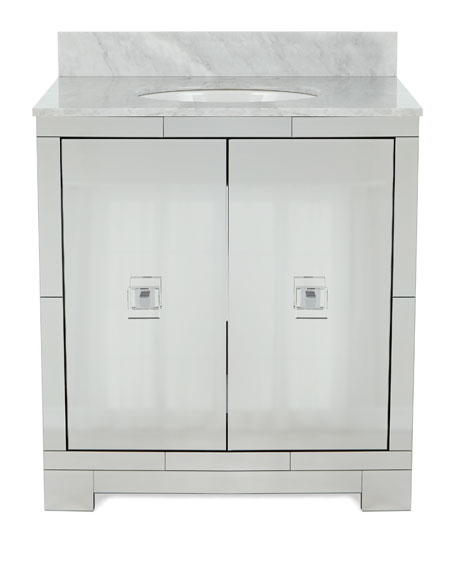 Gunther Mirrored Bath Vanity