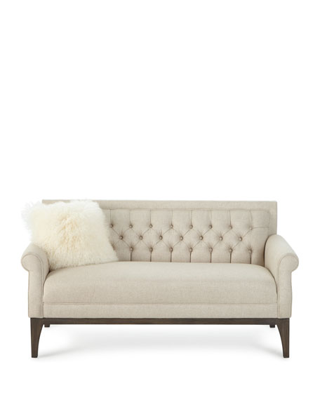 Faye Tufted Back Settee