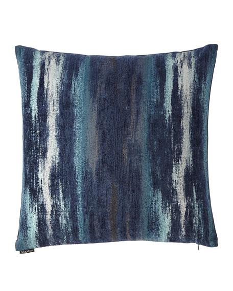 D.V. Kap Home Tia Ikat Woven Chenille Pillow