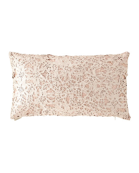 D.V. Kap Home Piaget Metallic Jacquard Pillow