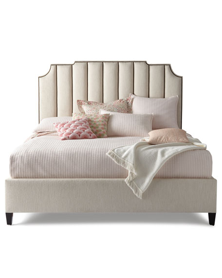 Bayonne Channel Tufted King Bed
