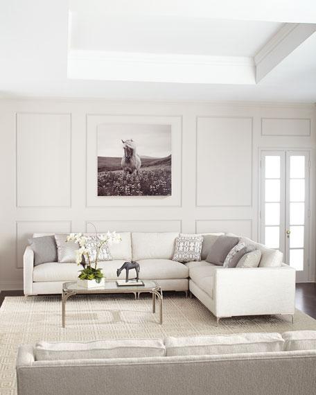 Bernhardt Eden 4 Piece Sectional Sofa