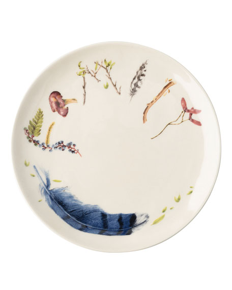 Forest Walk Sentiment Tidbit Plates, Set of 4