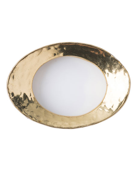 Puro Metal Gold Napkin Ring