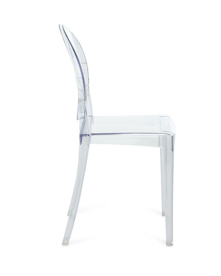 Pair of Clarisa Acrylic Dining Side Chairs