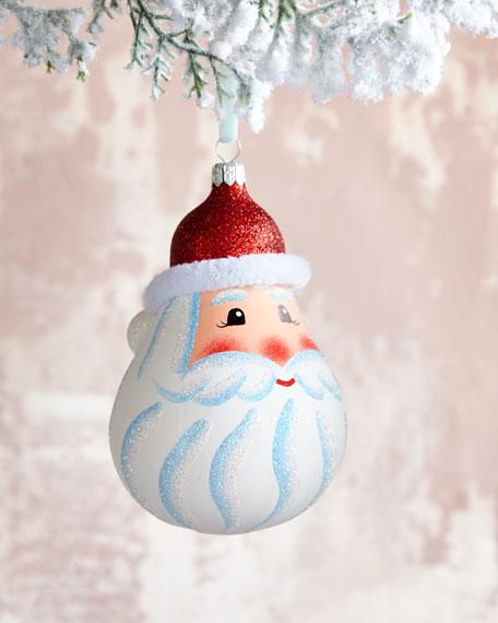 Santa Head Ornament