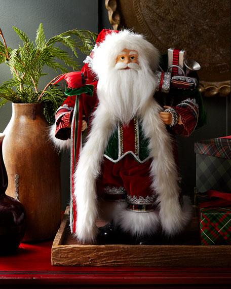 Classic Handmade Christmas Santa, 18
