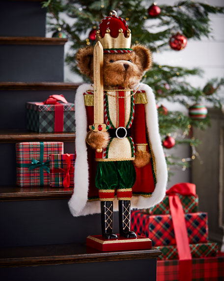 Sword Bear Nutcracker, 32""