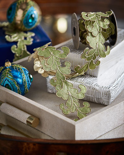 Metallic Acanthus Garland